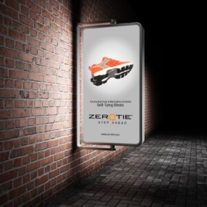 Zerotie Kickstarter Branding